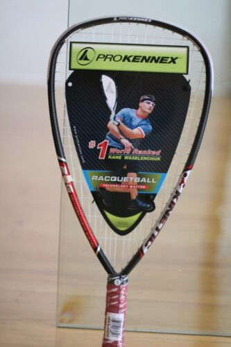 PROKENNEX RACQUETBALL RACQUET KINETIC 20g  3 5/8 grip Graphite and Red