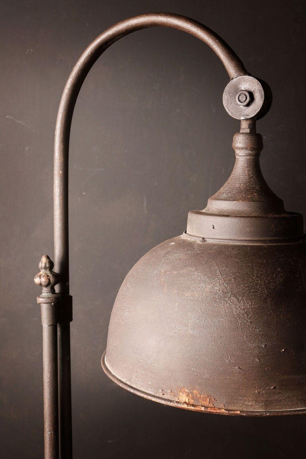 Lámpara de suelo industrial de estilo Retro Vintage Alto Grifo Tubo De Metal Negro De Hierro Negro