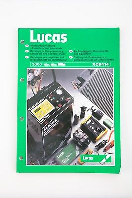 Lucas Air conditioning components and equipment XCB414 2000 catalogue