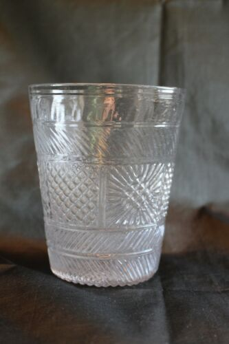 American Blown Three Mold Flip Glass by Boston and Sandwich Glass Works c. 1830
