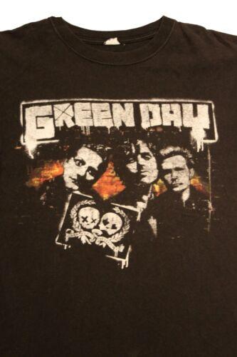 Green Day 2009 Tour Orlando FL Faded Black Concert T-Shirt Sz. M
