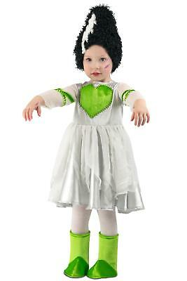Premium Frankie's Bride Frankenstein Monster Girls Child Toddler Costume NEW