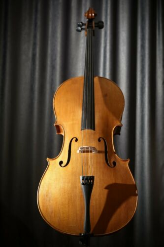 Professional Stradivari Model Cello 4/4 | Handmade in Romania | Luthier Dumitru