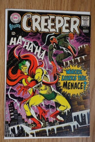 DC Beware the Creeper #1 (Jun, 1968) Silver age Comic