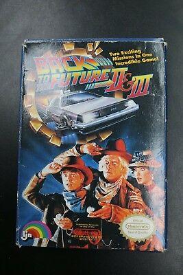 Back to the Future II & III - NES - Complete - Rare Complete Retro Nintendo Game Back To The Future Nes Game