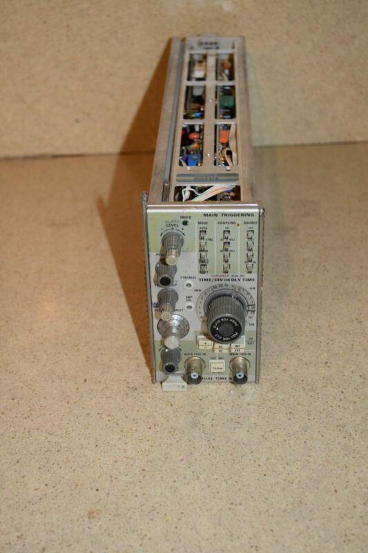 TEKTRONIX 7B92A DUAL TIME BASE PLUG IN (TP960)