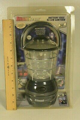 ILLUMBEAM Wind-Up Emergency Camping Lantern 5X LED 1 min cranking = 15 minutes ()