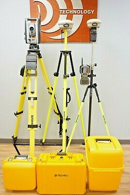 Trimble Is Solution Vx Robotic Total Station R8 Model 3 Gps Gnss Rtk Set Tsc3