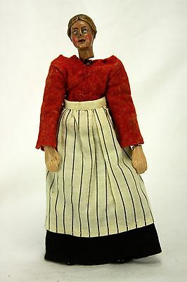 Antique Vintage Swiss Bucherer Jointed Metal Character Doll ca1920