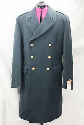 Vintage Swedish Military New Unworn 1970's Widengrens Wool Coat C50 Kappa M/60