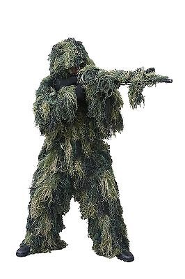 Red Rock Outdoor Gear Men's Ghillie Suit, Woodland Camouflage, Medium/Large](Cheap Ghillie Suits)