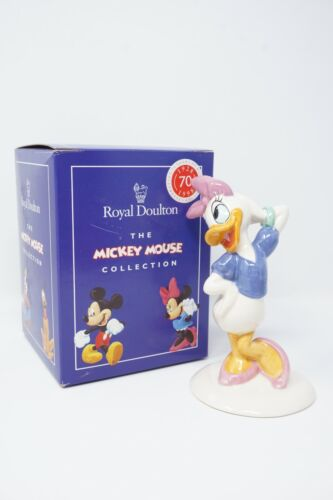 Royal Doulton Daisy Duck Figure - Mickey Mouse 70th Collection
