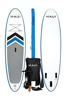 Maui 10'6'' Featherlight Inflatable Stand Up Paddleboard Package SUP Lightweight