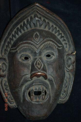 orig $499 NEPAL/TIBET SHAMAN  MASK 1900S 14IN PROV