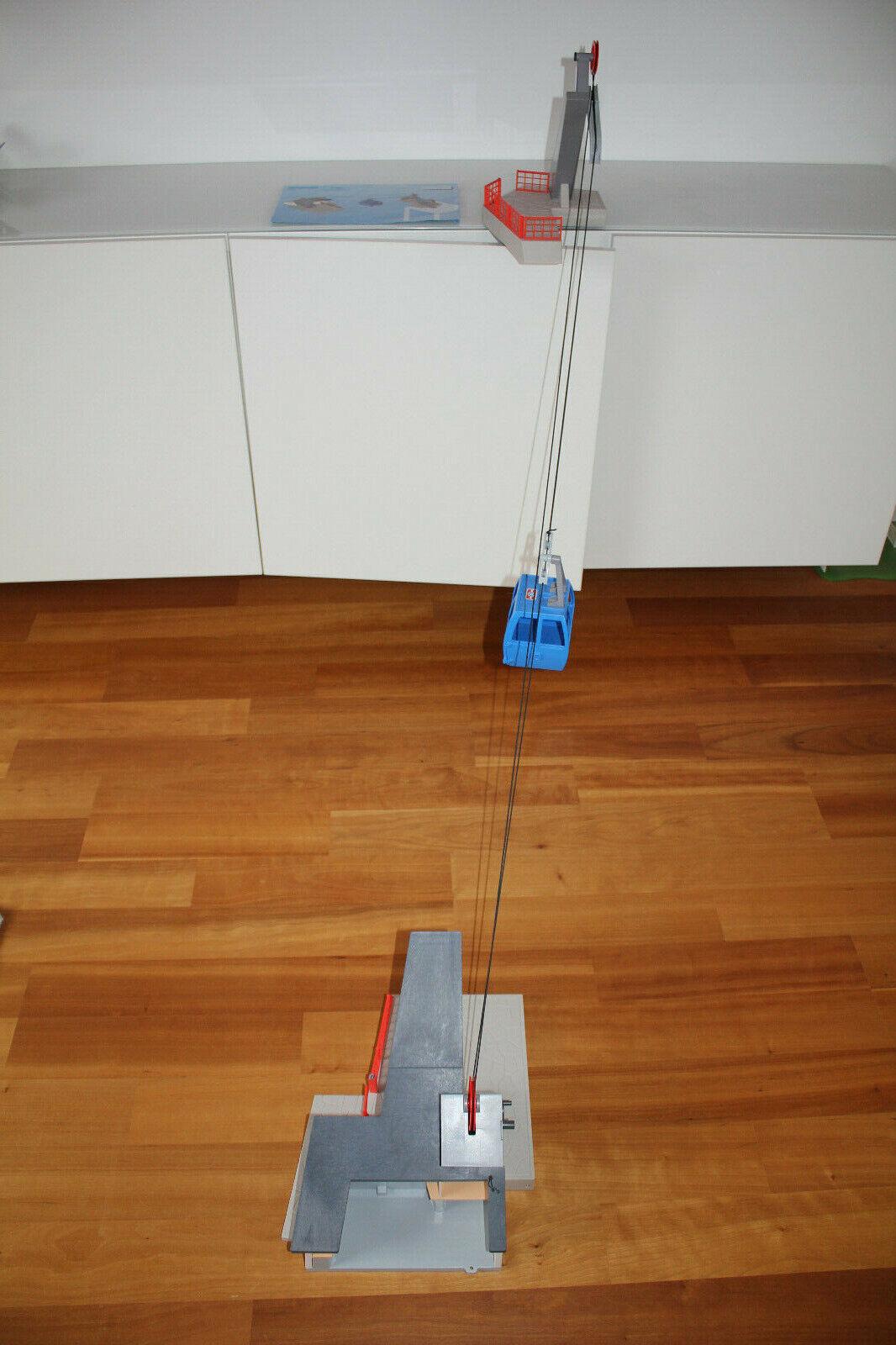 Playmobil Seilbahn 9830, neues Modell ! wie NEU !!!