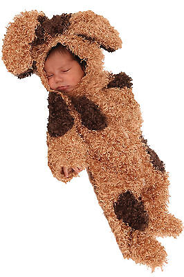 Baby Bently the Puppy Dog Spot Newborn Infant Costume 0/3 3/6 months photo prop