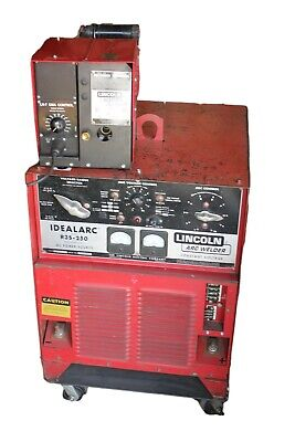 Lincoln Idealarc Mig Welder 3 Phase R3s-250 Dc Power Source W Ln-7 Gma Control