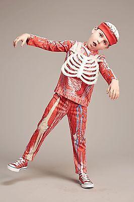 NEW! Body Parts costume for kids 6 years. Halloween, Skeleton, Dress up  (Skeleton For Kids)