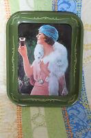 Raro Vassoio Coca Cola Numerato Donna Art Deco Bordo Verde Vintage -  - ebay.it