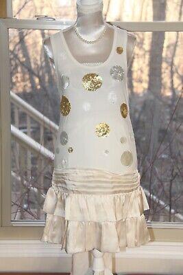 ❤️ Miss Grant Italy Girls Tank Dress; Size 36 (US 8)