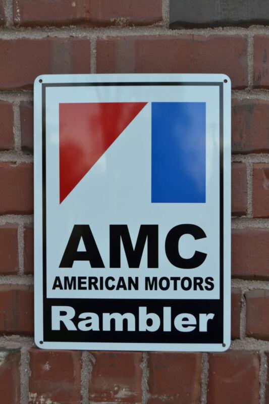 AMC Rambler 72 American Motors Racing Sign Service Mechanic AMX Garage SIGN