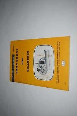 John Deere 602 Bulldozer Operators Manual Om-u11413u