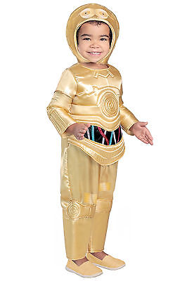 C-3PO PREMIUM Deluxe C3PO Star Wars Costume KIDS 18 24 months 2T 3T 3 4 5 6 7 8 - Child C3po Costume