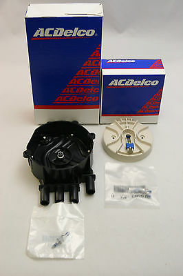 New OEM ACDelco Rotor D465 10452457 and Distributor Cap 10452458 D328A 4.3L Kit