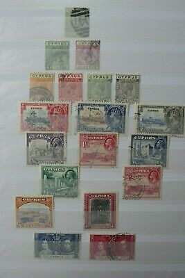 GB Stamps - Cyprus - Small Collection - E2