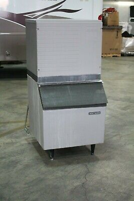 Scotsman Htb350 Cme256we-1a Ice Machine Maker W Bin 350 Lb Capacity