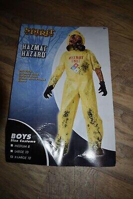 In Character HAZMAT HAZARD Zombie Undead Boys Child Halloween Costume XL-12