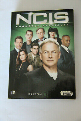 Coffret DVD NCIS Elnquêtes spéciales Saison 8