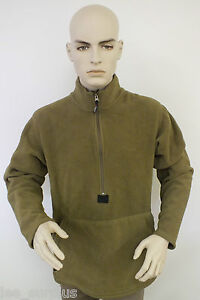 USMC-POLARTEC-FLEECE-PULLOVER-JACKET-COYOTE-BROWN-MARINES-PECKHAM-MEDIUM-EXC