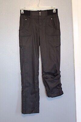 Athleta Charcoal Gray Adjustable Shasta Hiking Pants 4