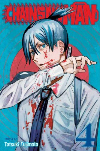 Chainsaw Man Vol 4 By Tatsuki Fujimoto, Enlish Manga, Free Expedited Shipping!