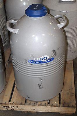 Taylor Warton Ld50 Liquid Nitrogen Dewar