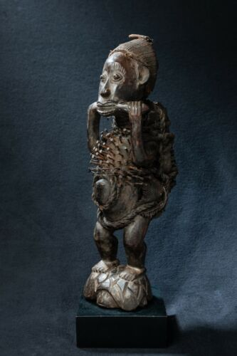 Yombe, Nail Fetish Statue, Democratic Republic of Congo, Central Africa