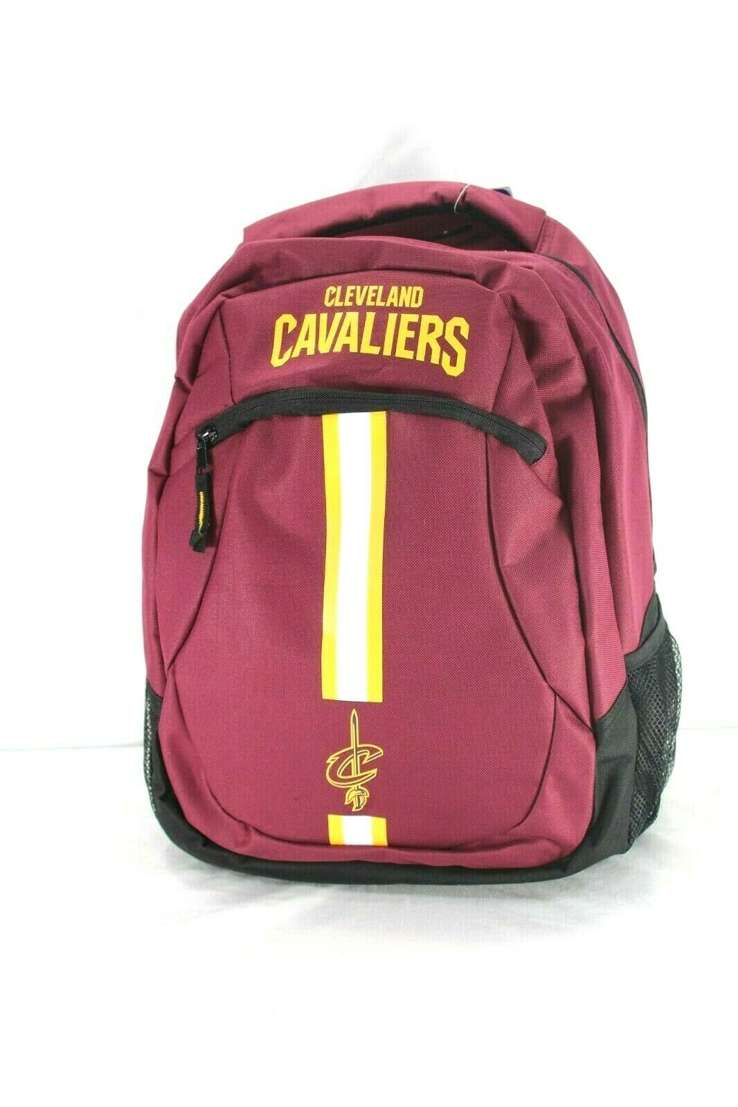 Cleveland Cavaliers NBA Backpack Maroon FOCO Action