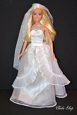 WEDDING BRIDE BARBIE DOLL
