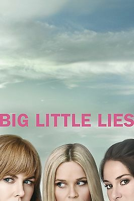 Big Little Lies TV Poster (24x36) - Nicole Kidman, Reese Witherspoon,