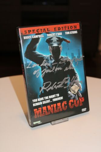 Maniac Cop DVD autographed by Robert Zdarsky