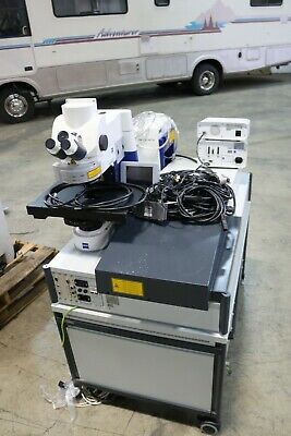 Zeiss Lsm510 Axio Meta Laser Scanning Confocal Microscope System