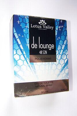 Lotus Natural (Lotus Valley de lounge Eau de Toilette Natural Spray 100 ml  ovp nos vintage old)