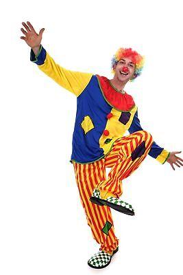 DRESS ME UP Kostüm Clown Herren Damen Kostüm Zirkus Kindergeburtstag Gr.S/M L204 ()