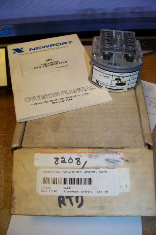new newport 501 two wire rtd transmitter