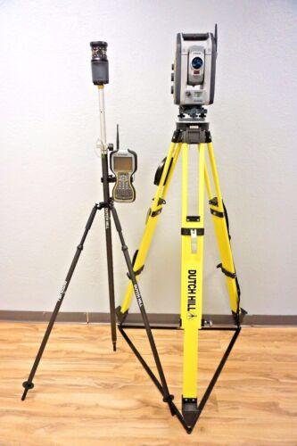 """Trimble S7 Dr Plus Vision Fine Lock Scanning Robotic Total Station 3"""" Sec S6 S8"""