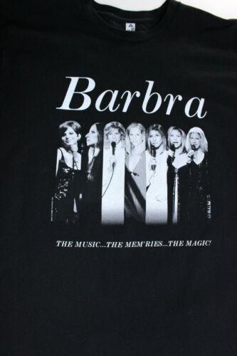 Barbra Streisand Tour The Music The Memories The Magic Tour 2016 Tshirt Size M