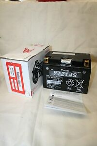 GENUINE YUASA YTZ14S YTZ 14S HONDA ETC, QUALITY MOTORCYCLE MOTORBIKE BATTERY