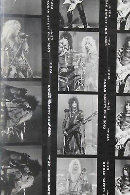 Motley Crue Shout At The Devil Looks That Kill Video Photographs Contact Sheets