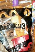 3 McDonalds Happy Meal Toys Madagascar